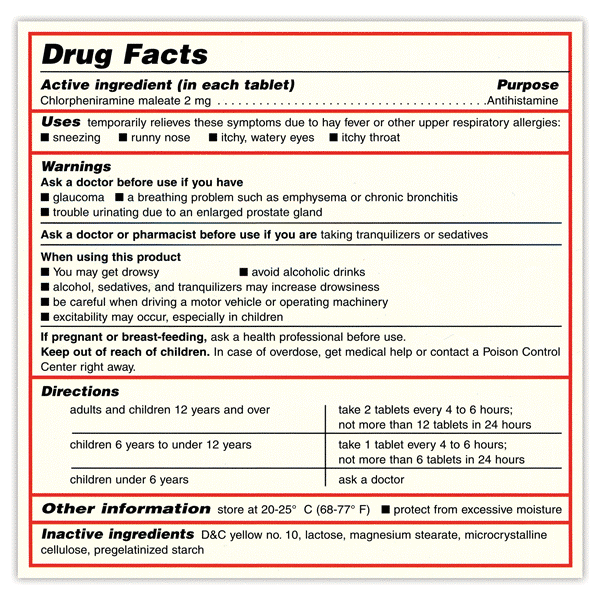 Labeling Laws/FDA And EU Guidance